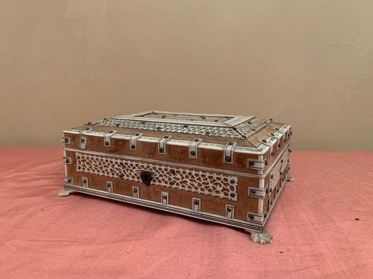 Set of 2 Anglo Indian Boxes For Sale 1