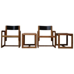 Set of 2 Armchairs André Sornay