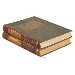 Set of 2 Books: Nouveau Dictionaire de la Vie Pratique, France, 1923