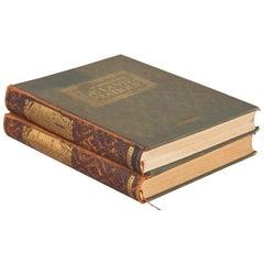 Set of 2 Books Nouveau Dictionaire de la Vie Pratique, France, 1923