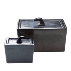 Set of Two Bronze Boxes