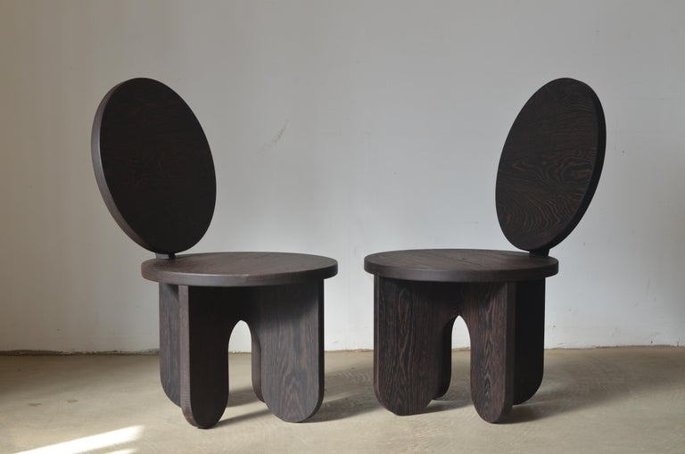 Set of 2 Capsule Lounge Chairs by Owl In New Condition For Sale In Geneve, CH
