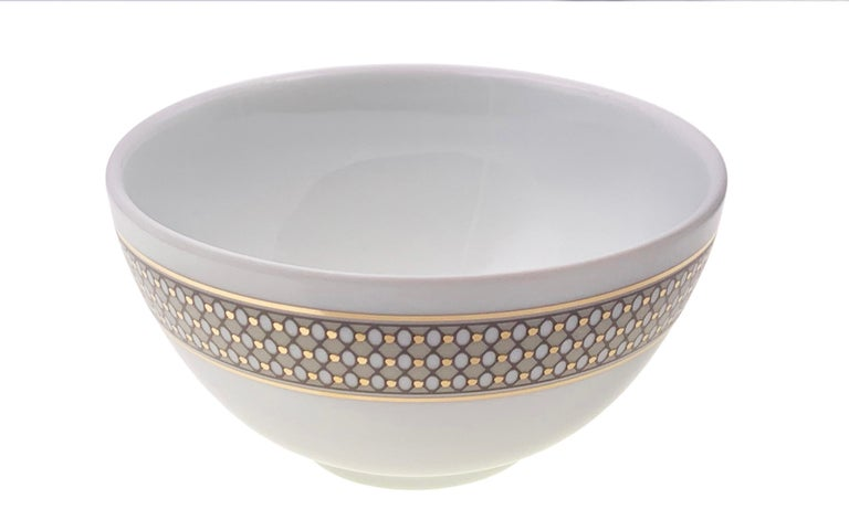 Malaysian Set of 2 Chinese Soup Bowl Modern Vintage André Fu Living Tableware New For Sale