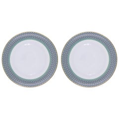 Set of 2 Dinner Plate Ring Mid Century Rhythm André Fu Living Tableware New