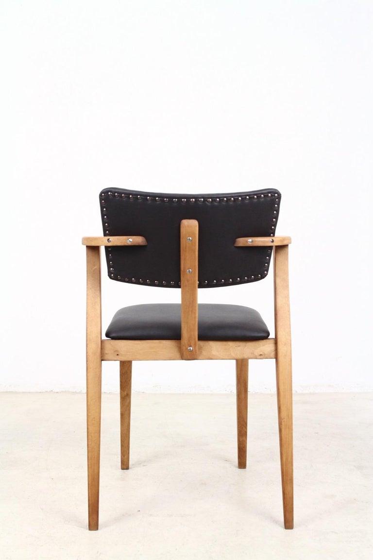 Mid-Century Modern Set of 2 Domus Armchairs by Ilmari Tapiovaara, Finland For Sale