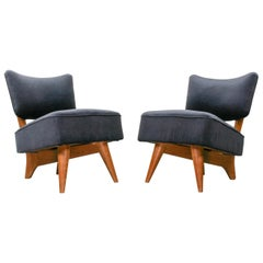 Set of 2 Dutch Art Deco Club Chairs by Unknown Designer, 1930s