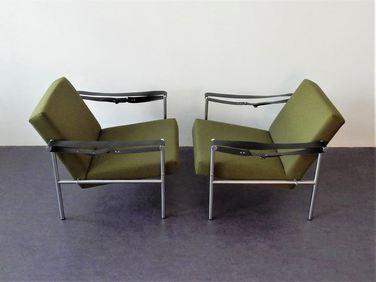 Dutch Set of 2 Easy Chairs by Martin Visser for 'T Spectrum, 1960s For Sale