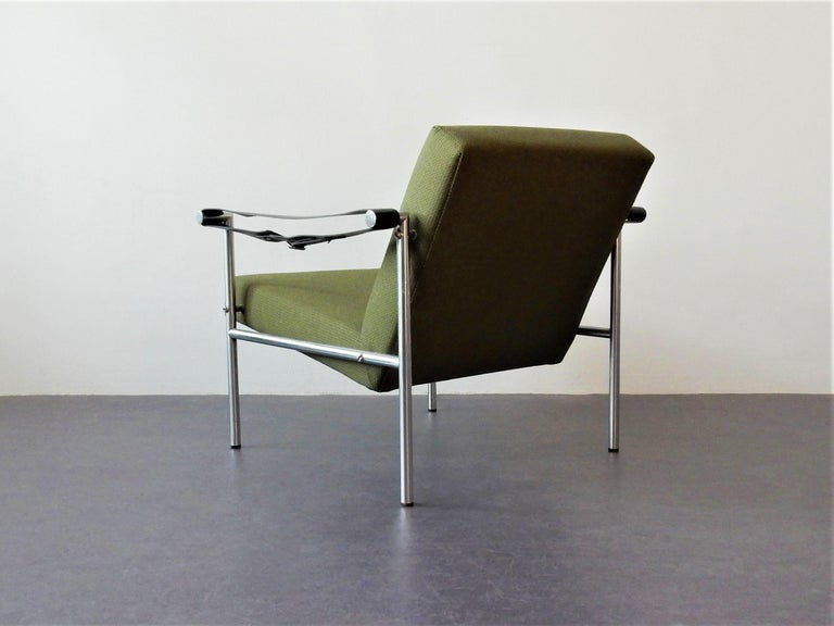 Mid-20th Century Set of 2 Easy Chairs by Martin Visser for 'T Spectrum, 1960s For Sale