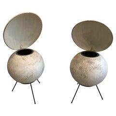 Set of 2 Elipson Speakers, Bs50 Chambord Model, 1953