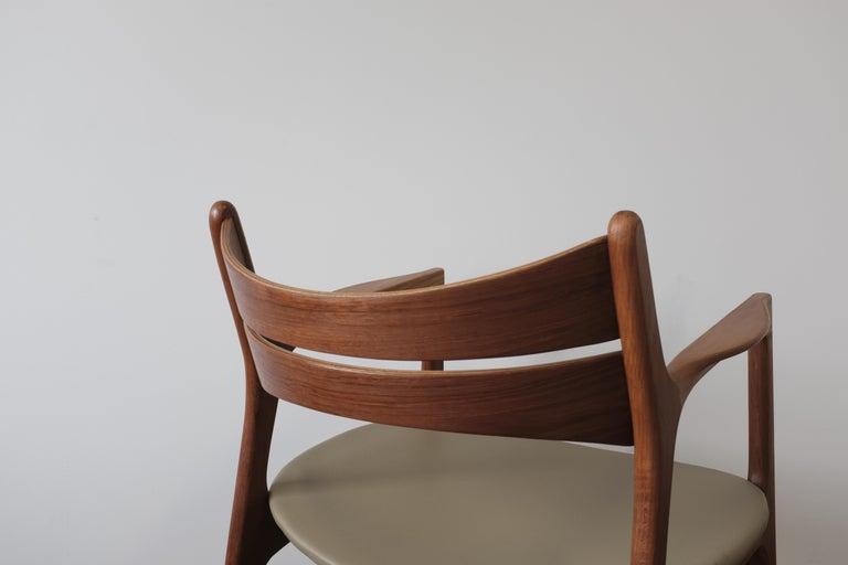 Danish Set of 2 Erik Buch Teak Armchairs For Sale