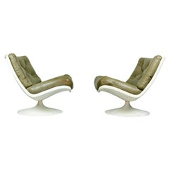 Set of 2 F976 by Geoffrey Harcourt for Artifort, 1960s