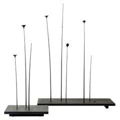Set of 2 Fiori Sculptures by Antrei Hartikainen