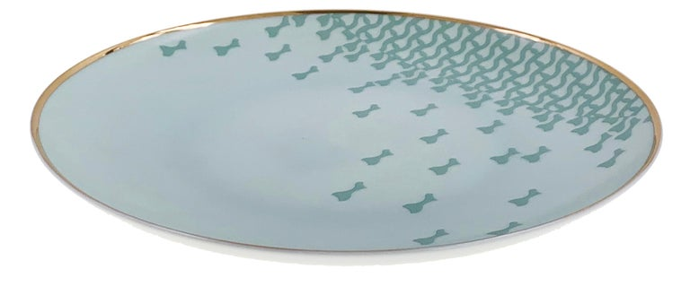 Modern Set of 2 Fruit Plate Mid Century Rhythm André Fu Living Tableware New For Sale