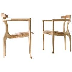 Set of 2 Gaulino Easychairs