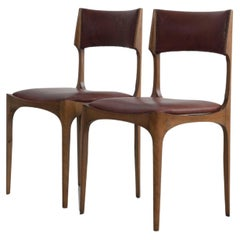 Set of 2 Giuseppe Gibelli Elisabetta Chairs, Sormani, Italy, 1963