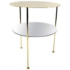Set of 2 Golden Tabu Side Tables