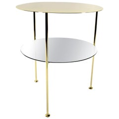 Set of 2 Golden Tabu Side Tables