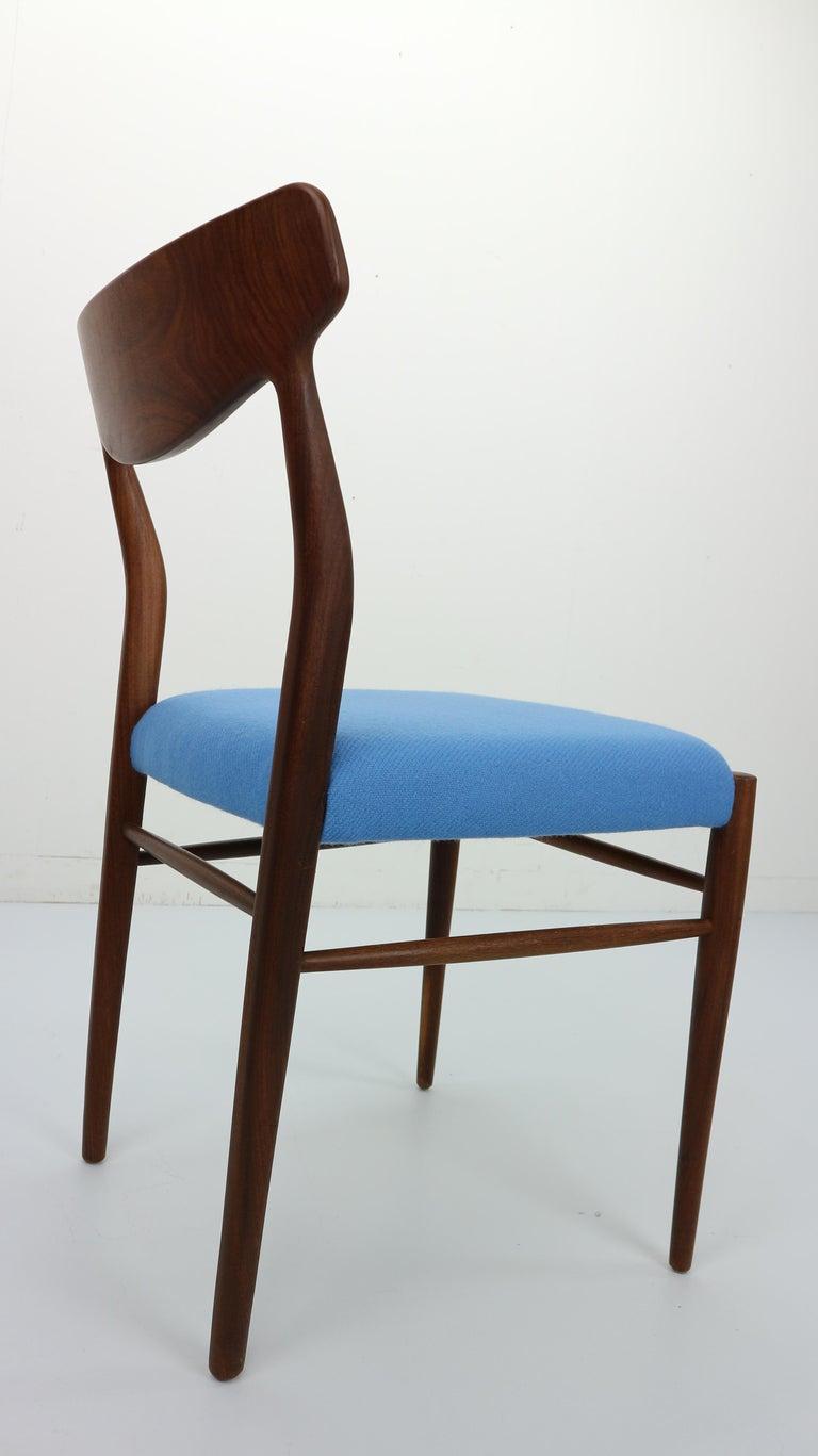 Set of 2 Harry Østergaard Teak Chairs, Denmark, 1960s For Sale 4