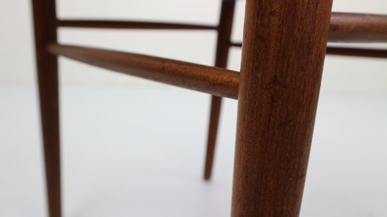 Set of 2 Harry Østergaard Teak Chairs, Denmark, 1960s For Sale 13