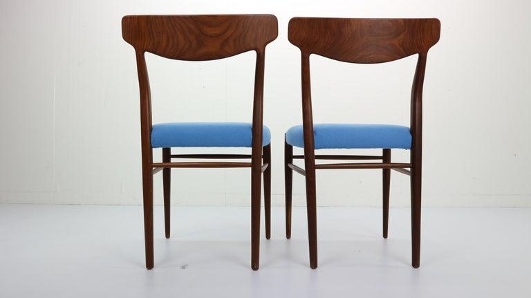 Set of 2 Harry Østergaard Teak Chairs, Denmark, 1960s For Sale 2