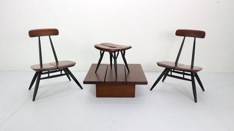 Set of 2 Ilmari Tapiovaara Pirkka Lounge Chairs, Finland, 1955 9