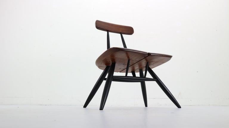 Finnish Set of 2 Ilmari Tapiovaara Pirkka Lounge Chairs, Finland, 1955