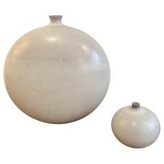 Set of 2 Jacques and Dani Ruelland Ceramics Vases