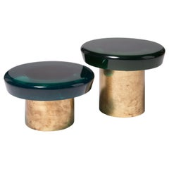 Set of 2 Jade Coffee Table by Draga & Aurel