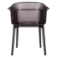 Set of 2 Kartell Papyrus Chair in Smoke Brown by Ronan & Erwan Bouroullec