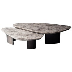 Set of 2 Ledge Coffee Table by DeMuro Das