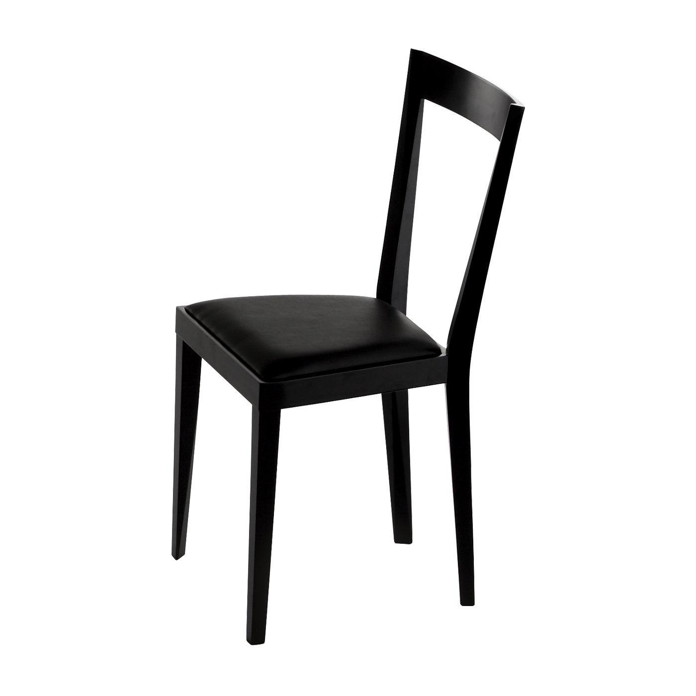Set of 2 Livia Black Chairs II by Gio Ponti
