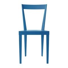 Set of 2 Livia Blue Chairs by Giò Ponti