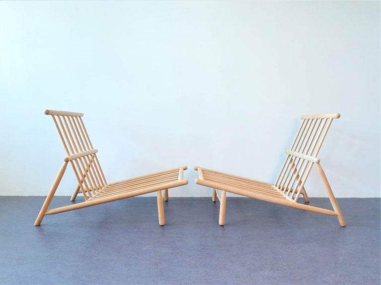 Mid-20th Century Set of 2 Lounge Chairs by Alf Svensson for DUX, Sweden, 1950s