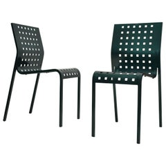 Set of 2 Mirandolina Chairs Designed by Pietro Arosio for Zanotta, Italy, 1993