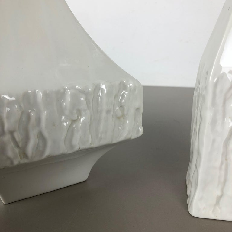 Set of 2 Modernist 1960s Vase Sculptures Peter Müller for Sgrafo Modern, Germany For Sale 10