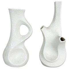 Set of 2 Modernist 1960s Vase Sculptures Peter Müller for Sgrafo Modern, Germany