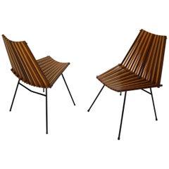 Set of 2 Modernist Chairs by Dirk Van Sliedregt for Rohé Noordwolde, 1960s