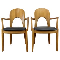 Set of 2 Morten Armchairs by John Mortensen for Koefoeds-Hornslet