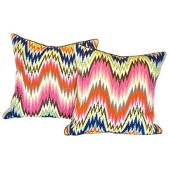 Set of 2 Multi-Color Pillows by Jonathan Adler