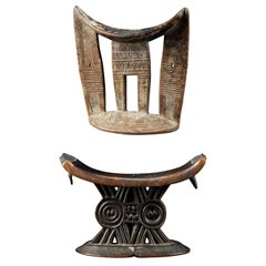 Set of 2 Neckrests from East Africa