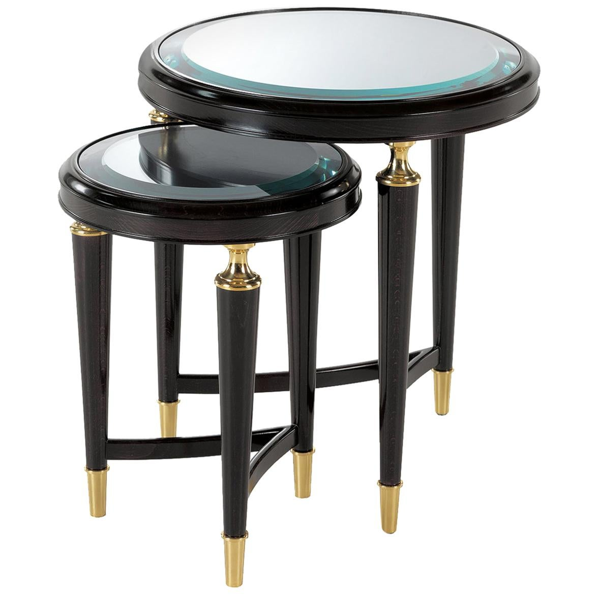 Set of 2 Nesting Side Tables