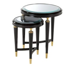 Set of Two Nesting Side Tables