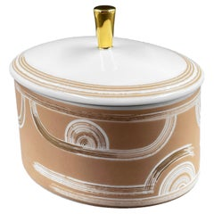 Set of 2 Oval Box Art Déco Garden André Fu Living Tableware New