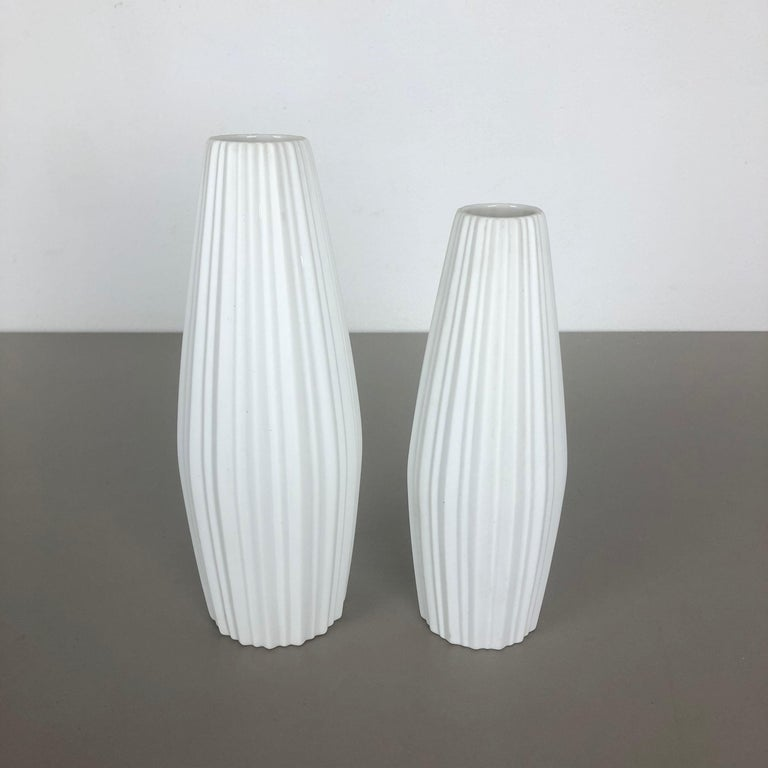 Set of 2 Porcelain Op Art