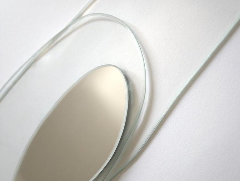 European Set of 2 Prix Hand-Sculpted Mirrors, Laurene Guarneri For Sale