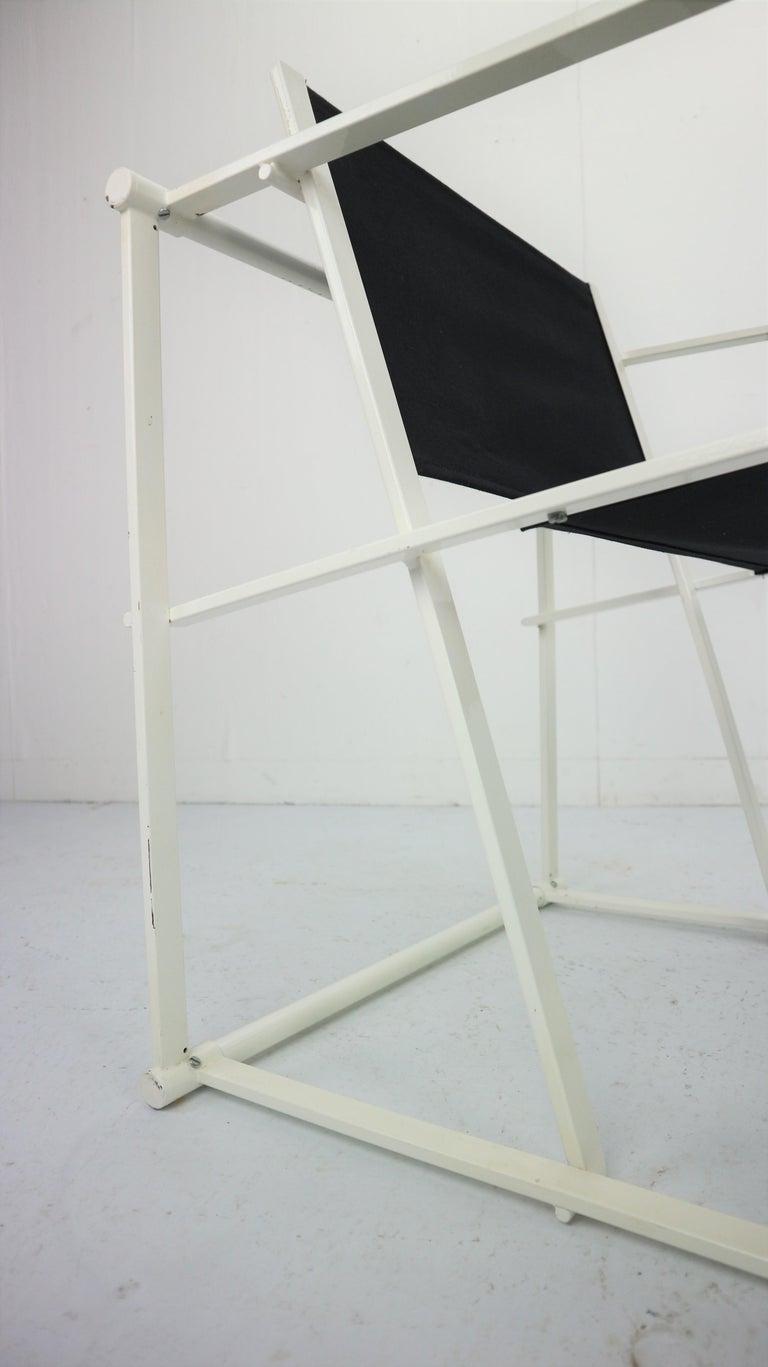 Set of 2 Radboud Van Beekum Fm62 Cube Chairs for Pastoe, 1980s Dutch Design For Sale 4