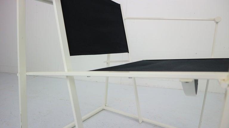 Set of 2 Radboud Van Beekum Fm62 Cube Chairs for Pastoe, 1980s Dutch Design For Sale 5