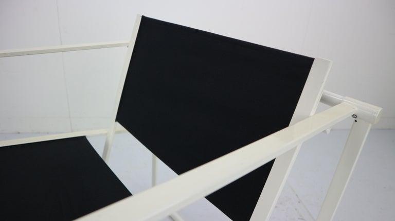Set of 2 Radboud Van Beekum Fm62 Cube Chairs for Pastoe, 1980s Dutch Design For Sale 7