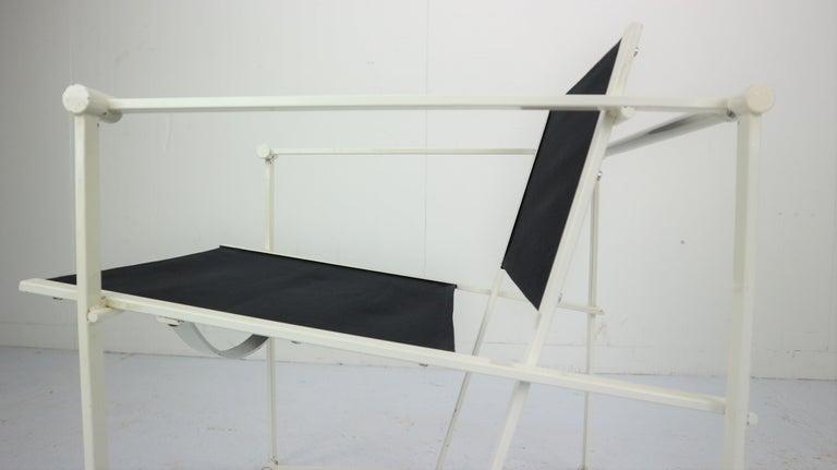 Set of 2 Radboud Van Beekum Fm62 Cube Chairs for Pastoe, 1980s Dutch Design For Sale 9