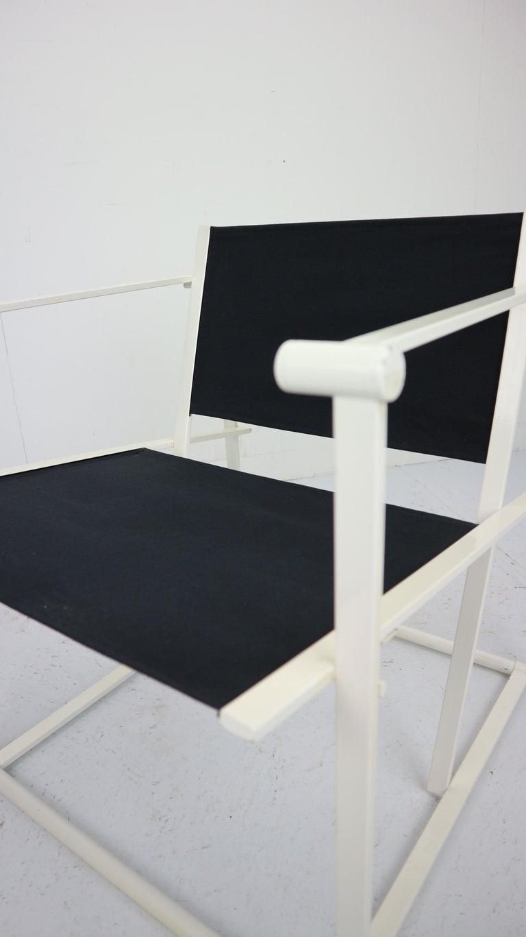 Set of 2 Radboud Van Beekum Fm62 Cube Chairs for Pastoe, 1980s Dutch Design For Sale 12